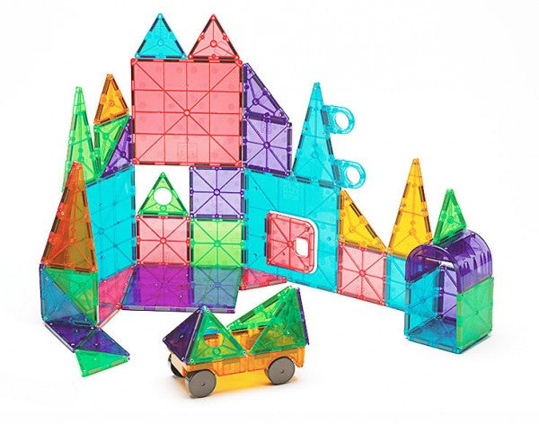 Magna-Tiles Clear Colours 48 piece deluxe set