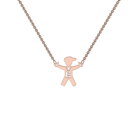 My Family Rose Gold Necklace