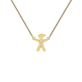 My Family Yellow Gold Necklace