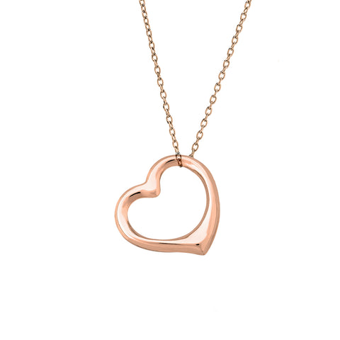 Gold Heart Necklace