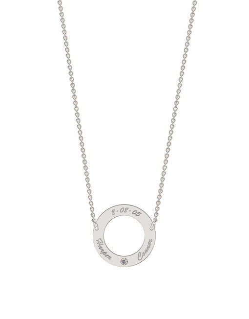 Classic Circle Necklace