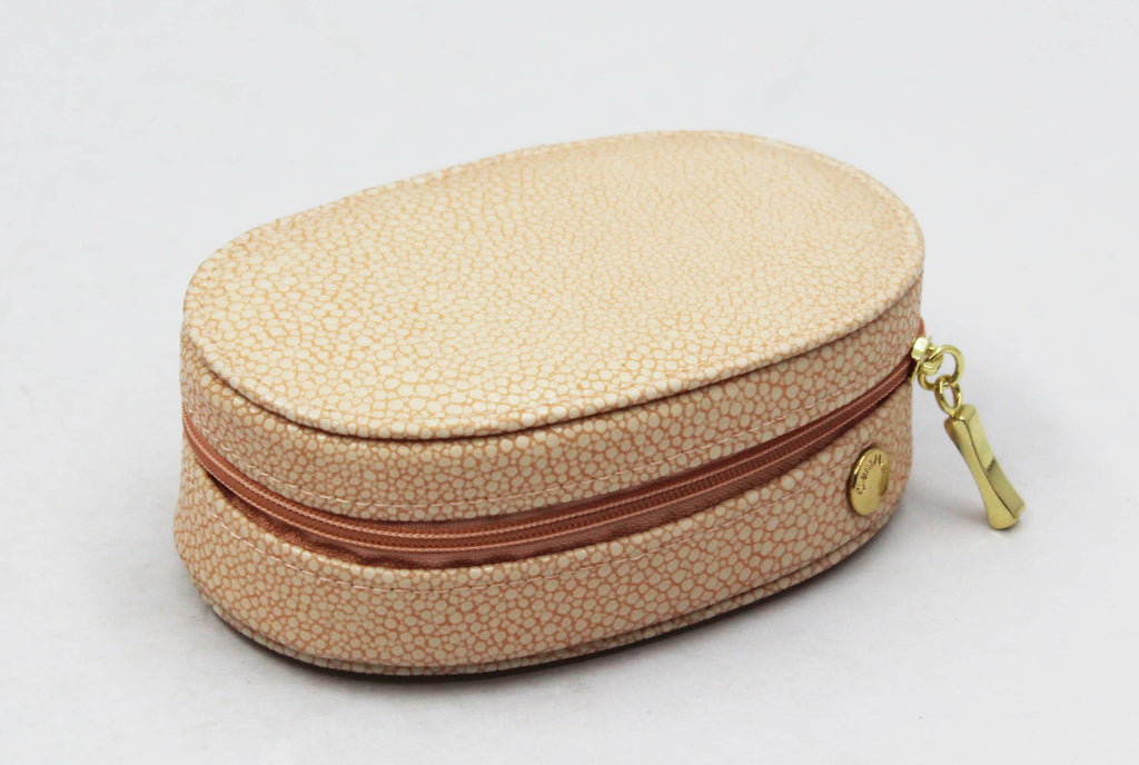 Dusty Pink Stingray Oval Traveller