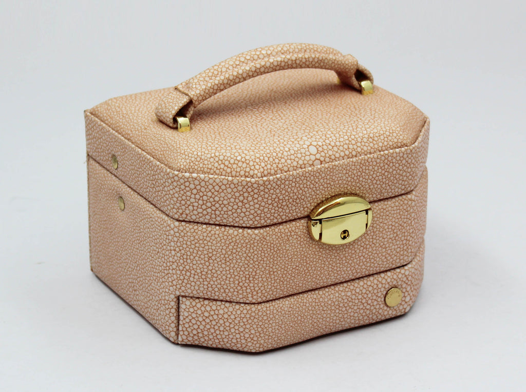 Dusty Pink Stingray Small Jewel Box