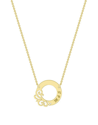 Designer Circle Necklace
