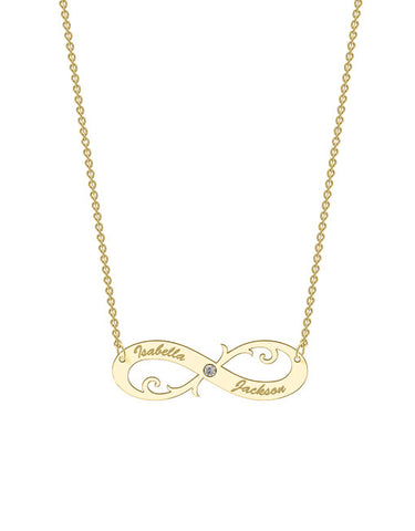 Designer Infinity Necklace