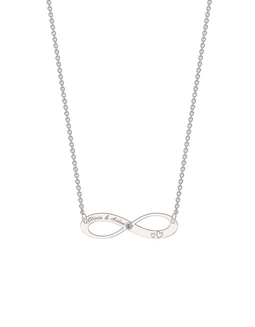 Elaborate Infinity Necklace