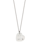 Cut Out Heart Pendant Necklace