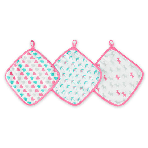 Ideal Baby 3 Pack Washcloths