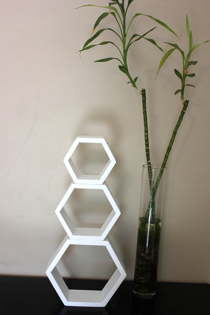 Mini Hexagon Shelves