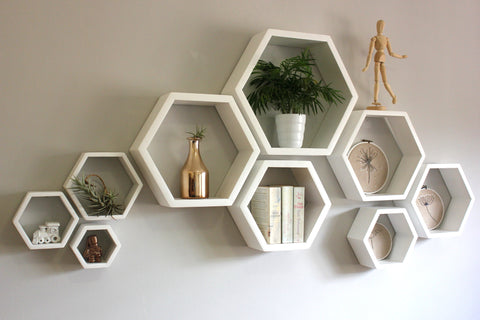 Hexagon Shelves Combo