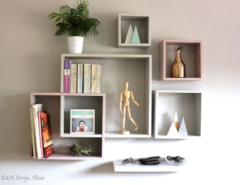 6 in 1 Shelving Solution