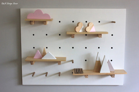 Kids Peg Board