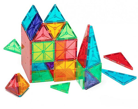 Magna-Tiles Clear Colours 100 piece set