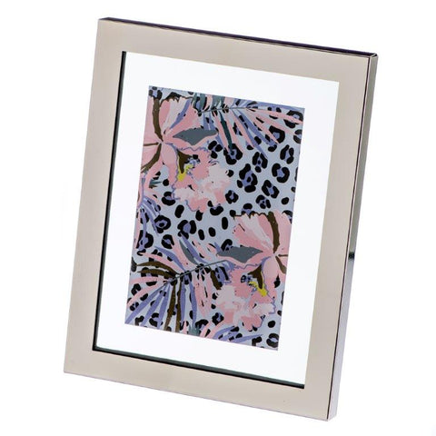 Cara Mia Silver Block Photo Frame