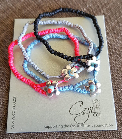 Coji Flower Pebble Bracelet