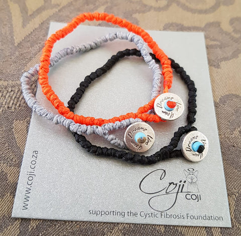Coji Live Your Dreams Pebble Bracelet