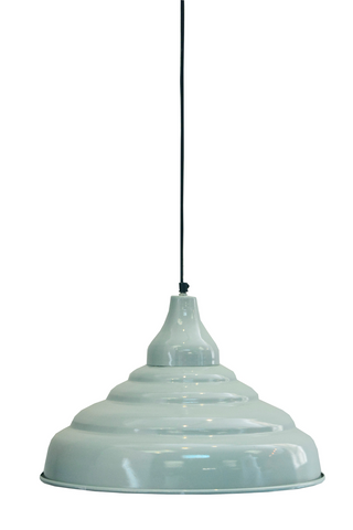 Light Blue Hanging Ceiling Light