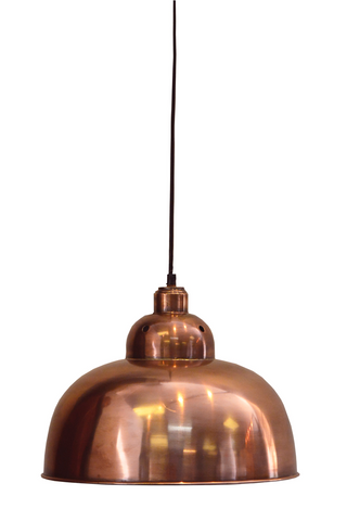 Matte Copper Hanging Ceiling Light