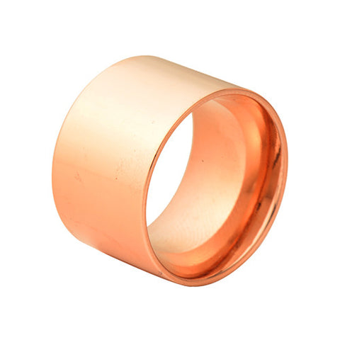 Flat Band Wide Ring