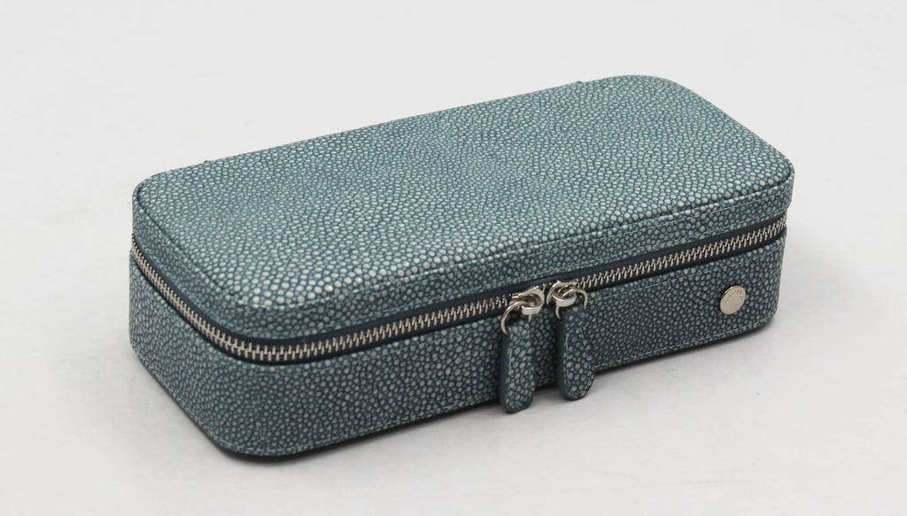 Blue Stingray Jewel Case Zip