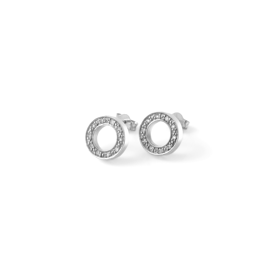 Diamond Open Halo Studs
