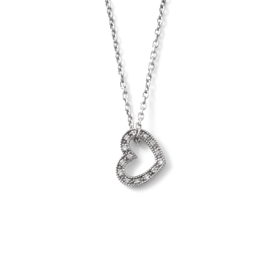 Diamond Heart Necklace