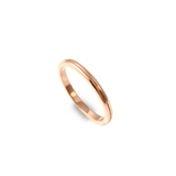 Grooved Wedding Band