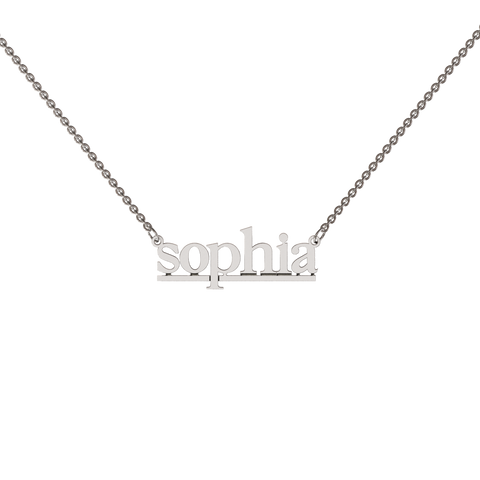 Willa Name Necklace