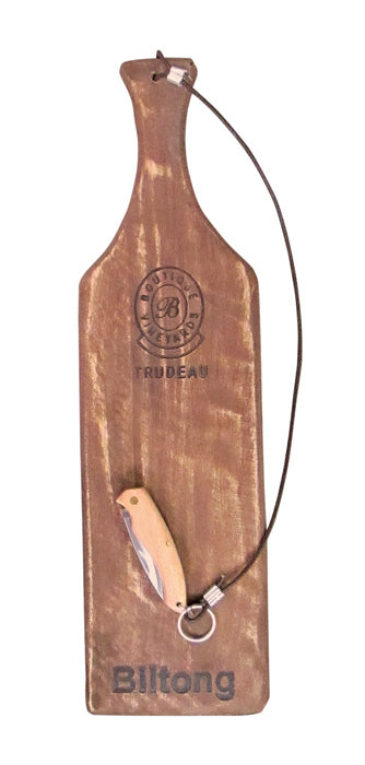 Trudeau Biltong Board with Knife