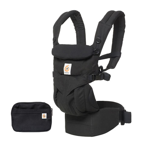 Omni 360 Baby Carrier – Pure Black