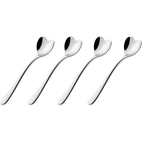 Alessi Heart Shaped Coffee Spoons - set of 4