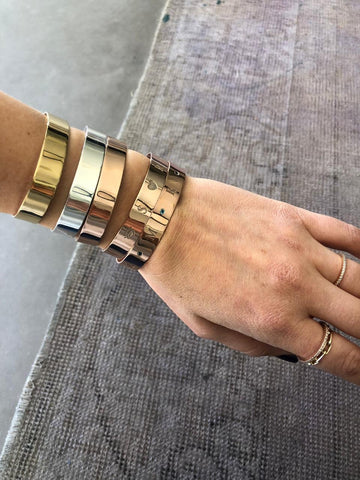 Customizable Gold Plated Cuff