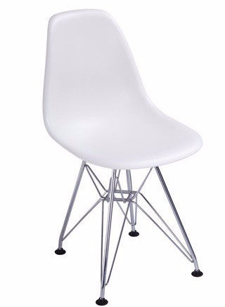 Chairs Replica Kids Eames Chair With Metal Legs White Cape