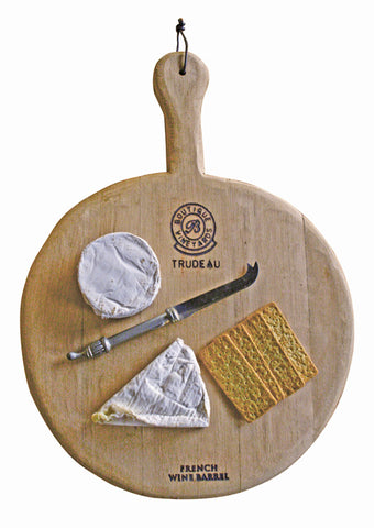 Trudeau Small Round Board with Handle