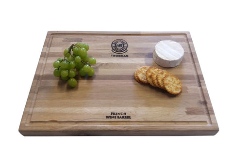 Trudeau Large Oak Steak Board
