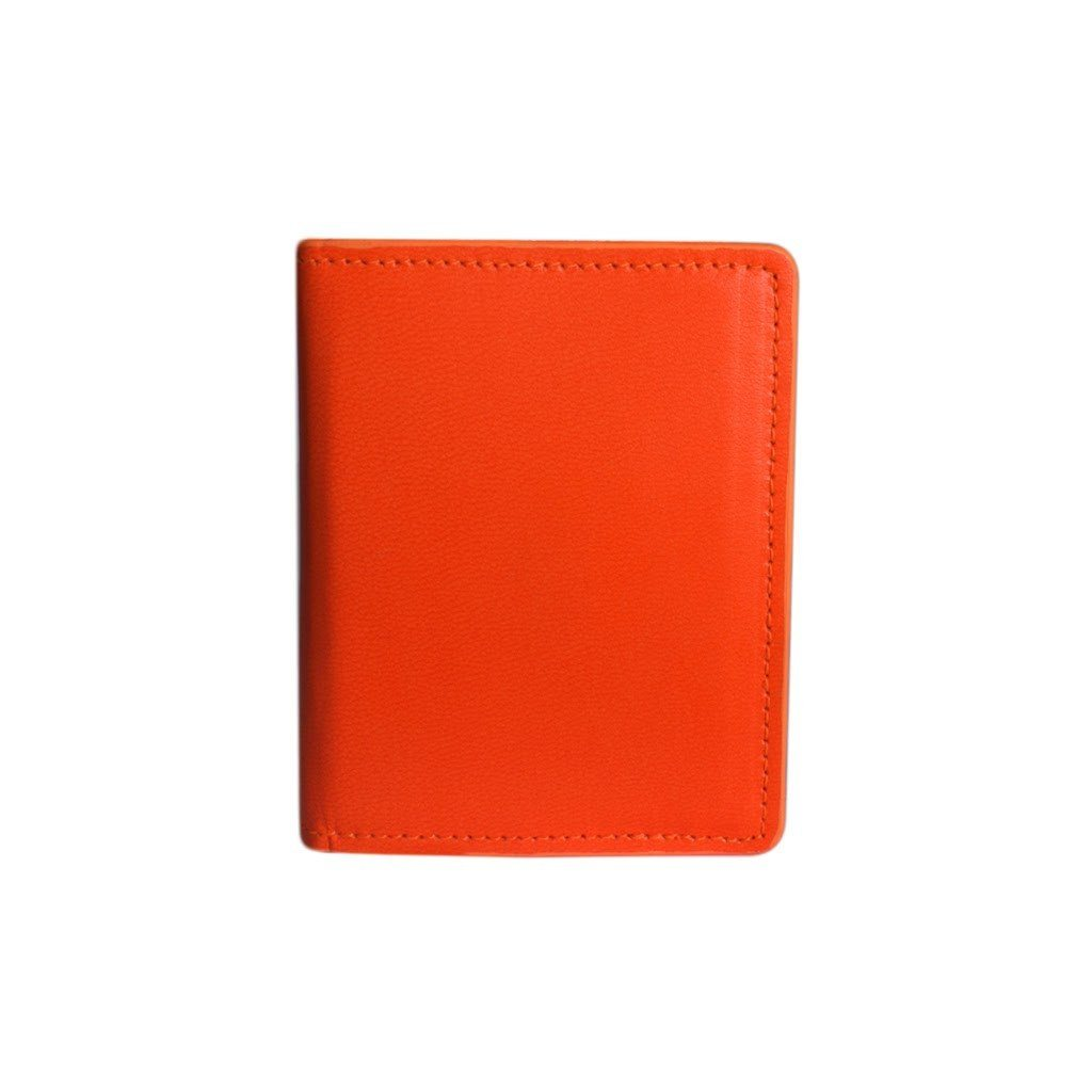 Card Wallet - Fluorescent Orange - Blumera