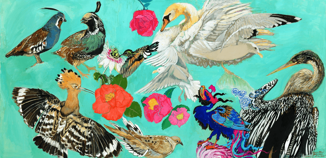 Conference of the Birds Giclee Giclee Blumera