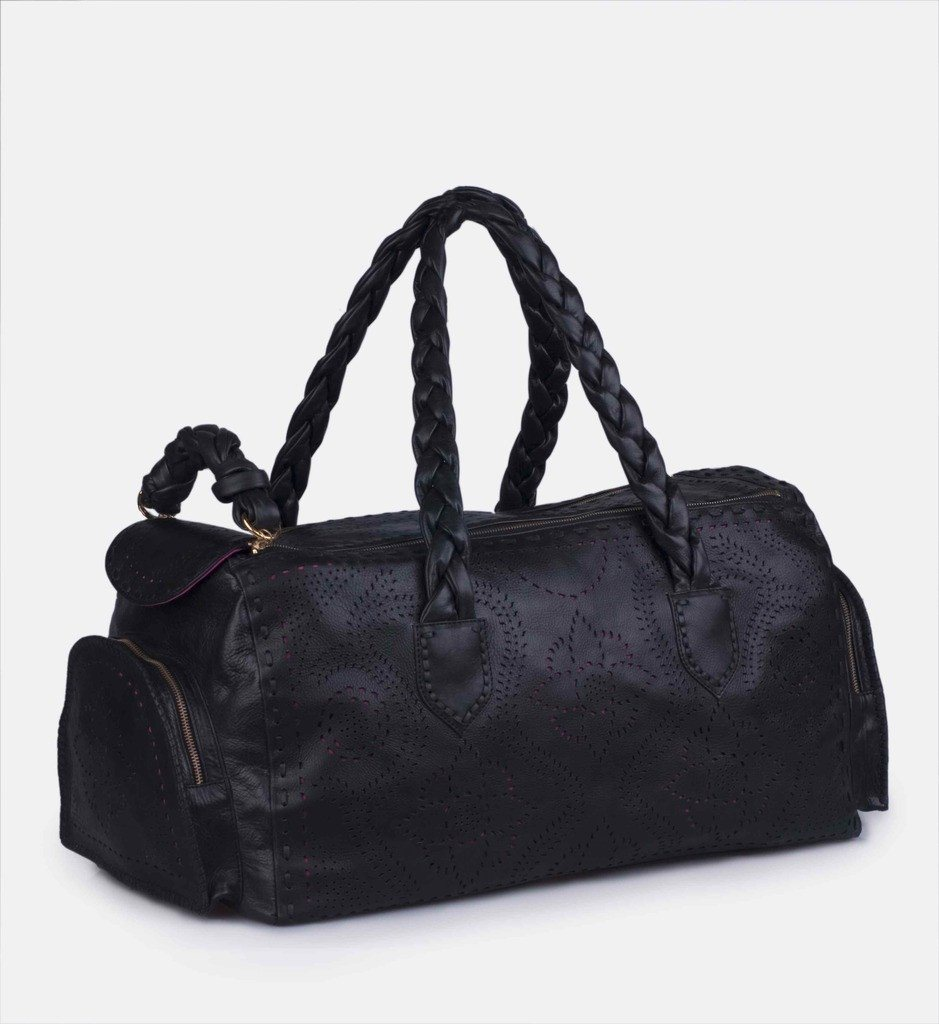 Delia Travel Bag - Black - Blumera