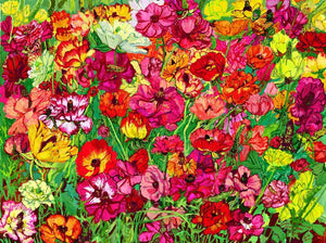 "Giclee Print of Laurie Blum's ""Poppies!"" Painting - Blumera"