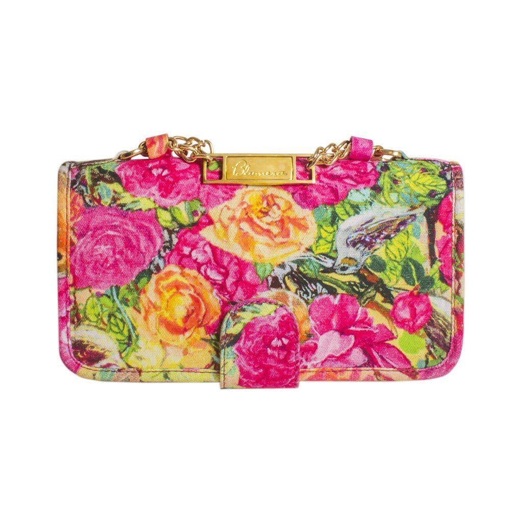 Laurie Classic Clutch with optional strap - Blumera