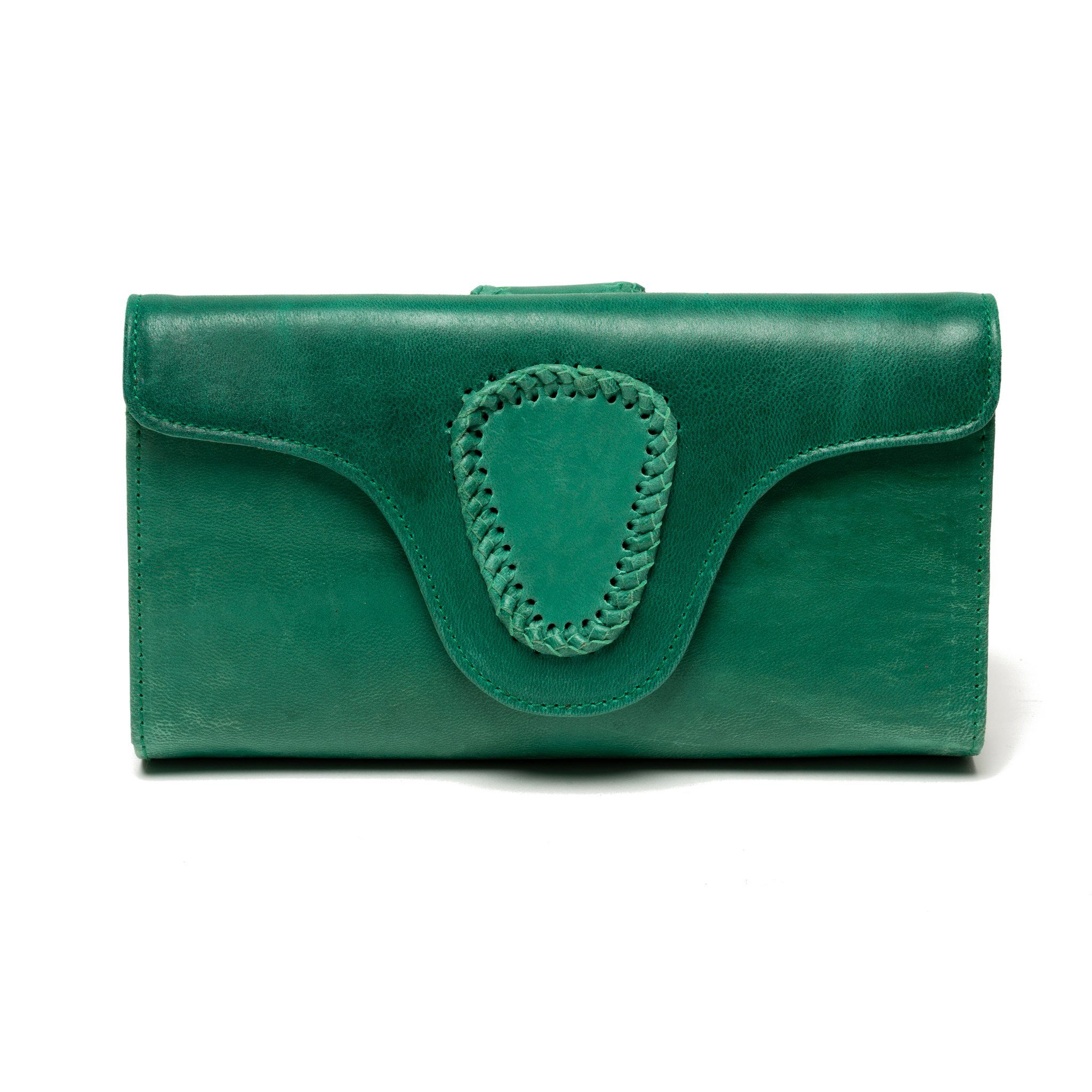 Manija Braided Wallet - Blumera