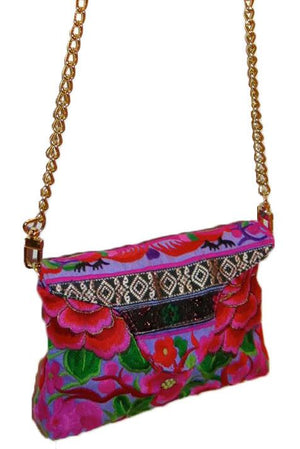 Nadine Purple Crossbody Mini - Blumera