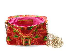Nadine Red Crossbody Mini - Blumera