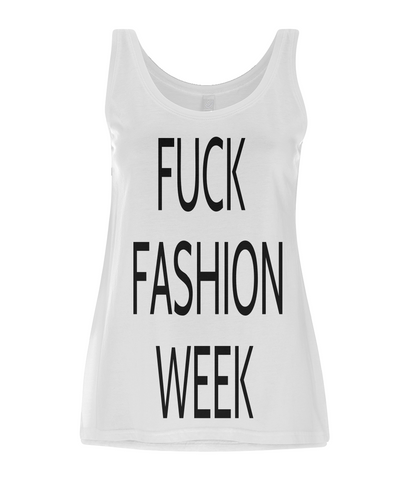 FUCK FASHION WEEK Women's Vest