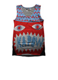 DAVID SHILLINGLAW RED KAPOW VEST