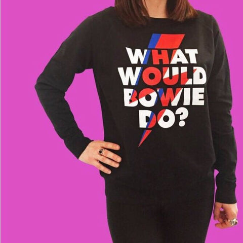 What Would Bowie Do? Sloppy JO Sweater