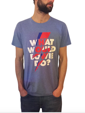 What Would Bowie Do? Men's T-Shirt