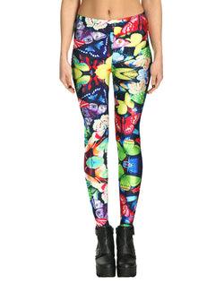 butterfly leggings front view
