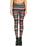 aztec leggings front view