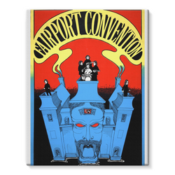 Fairport Convention Psychedelic Stretched Eco-Canvas